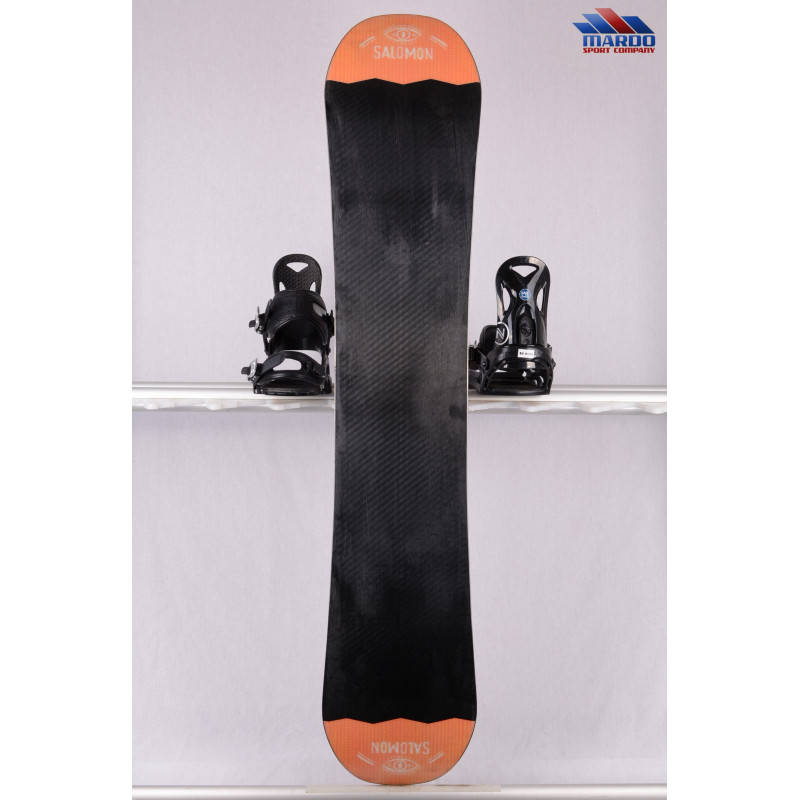 snowboard SALOMON CRAFT UNITE 2019, black/orange, freestyle, woodcore, sidecut, FLAT/camber