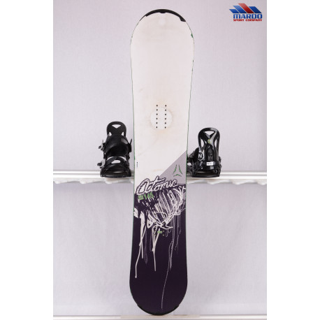 snowboard ATOMIC PIQ WIDE white/black, woodcore, sidewall, FLAT/rocker