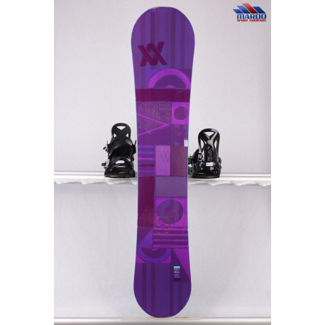dámsky snowboard VOLKL DISTUBIA violet, woodcore, sidewall, freestyle, HYBRID/camber