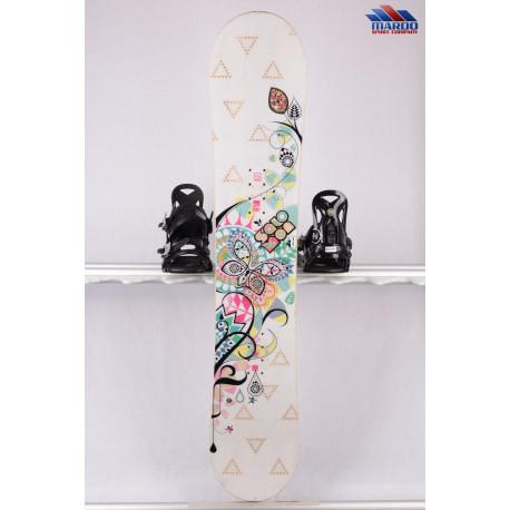 dámsky snowboard SALOMON LOTUS, woodcore, FLAT