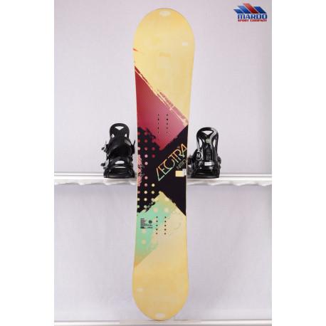 dámsky snowboard NITRO LECTRA, woodcore, power core, BI-lite laminates, sidecut, CAMBER