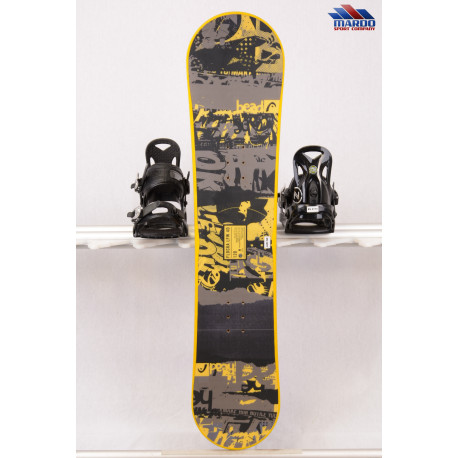 detský/juniorský snowboard HEAD FLOCKA LFW 4D 2018, yellow, woodcore, ROCKER