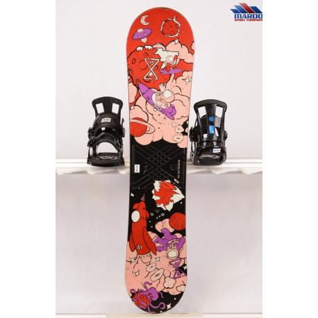 detský/juniorský snowboard BURTON LTR black/pink, woodcore, FLAT/rocker