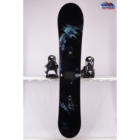 snowboard ATOMIC BANGER, woodcore, freeride, POP rocker, FLAT/rocker