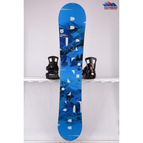 snowboard BURTON PROGRESSION 2018 blue/hory, WOODCORE, sidewall, ROCKER
