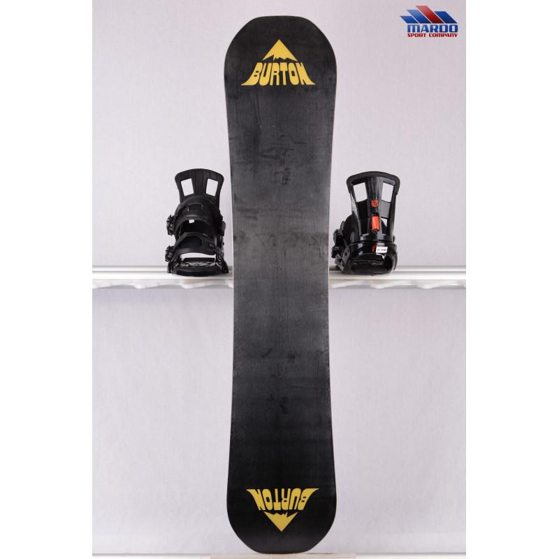 snowboard BURTON RADIUS 2018, black/yellow, woodcore, FLATtop, ROCKER ( TOP stav )