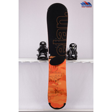 snowboard ELAN EXPLORE ROCKER 2018, black/orange, woodcore,carbon, handmade, ALL terrain, ROCKER ( TOP stav )