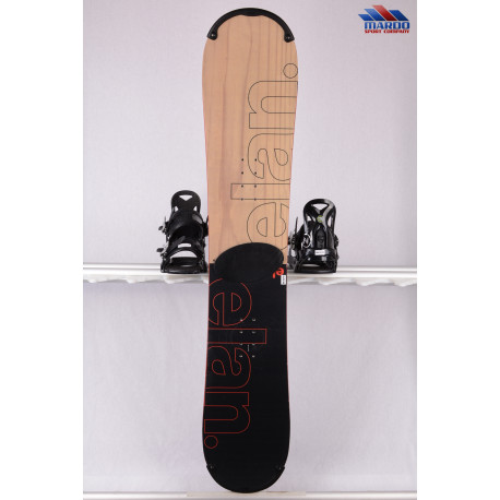 snowboard ELAN EXPLORE ROCKER R 2019, black/wood, woodcore, carbon, handmade, ALL terrain, ROCKER ( TOP stav )
