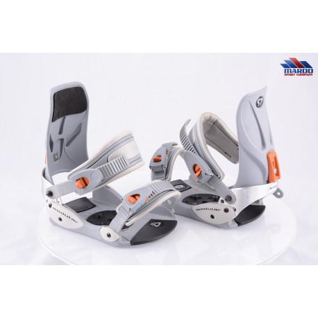snowboardové viazanie MODULAR grey, size S/M ( TOP stav )