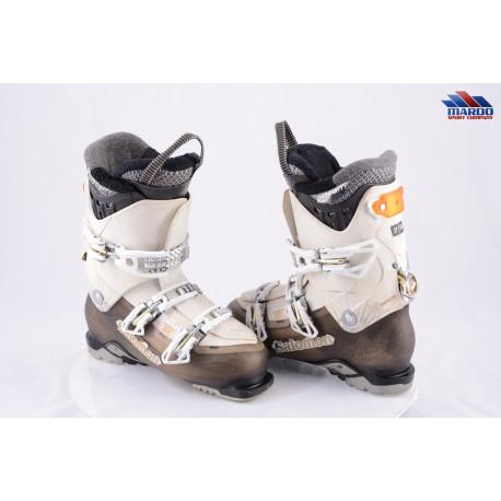 dámske lyžiarky SALOMON QUEST 880 W, 80 flex, BIOvent, OVERSIZED lever, SKI/WALK system