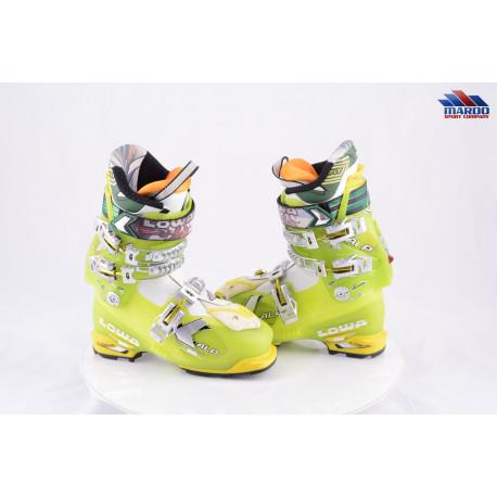 skialpinistické lyžiarky LOWA X ALP ULTRA, Green, 3 combined, LOWA FIT, CLIMBING system, SKI/WALK ( TOP stav )