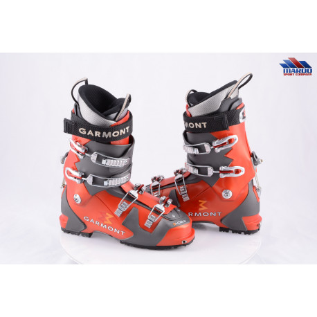 skialpinistické lyžiarky GARMONT SHOGUN red/grey, SKI/WALK, WATER SEAL, micro, macro ( ako NOVÉ )