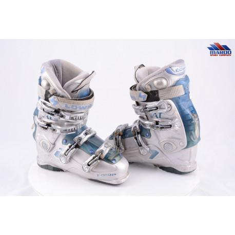dámske lyžiarky LOWA AC 80, AIR system, Grey/blue, W fit, flex 80, SKI/WALK, WIDE/NARROW
