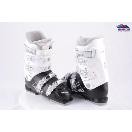 dámske lyžiarky DALBELLO VAIL, BLACK/white, THERMO insulation, AUTO INSTEP ( TOP stav )