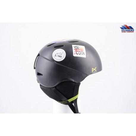lyžiarska/snowboardová helma ANON HELO 2.0 black, 2018 ( TOP stav )