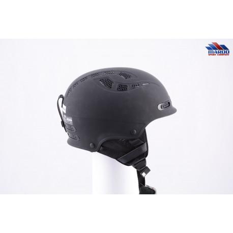 lyžiarska/snowboardová helma SWEET PROTECTION IGNITER 2019, BLACK/matt, nastaviteľná, air vent ( NOVÁ )