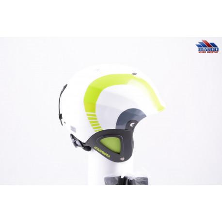 lyžiarska/snowboardová helma CARRERA CJ-1 2018 white/green, nastaviteľná ( NOVÁ )