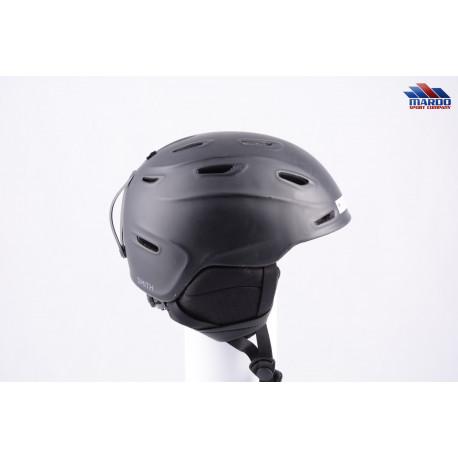 lyžiarska/snowboardová helma SMITH ASPECT black, ULTIMATE integration, AIREVAC, ventilation, 2017, nastaviteľná ( TOP STAV )