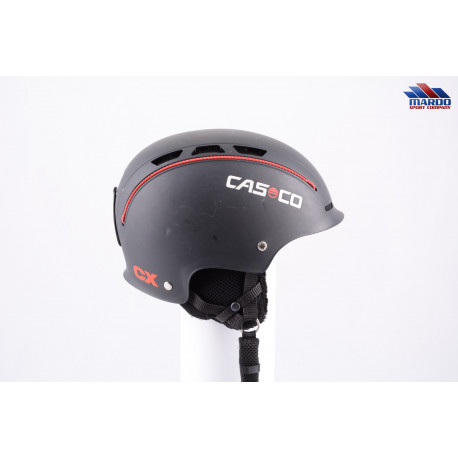 lyžiarska/snowboardová helma CASCO CX-3 2018, Black/red ( TOP stav )