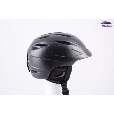 lyžiarska/snowboardová helma GIRO SEAM black 2017, STACK ventilation, X-STATIC, nastaviteľná ( TOP stav )