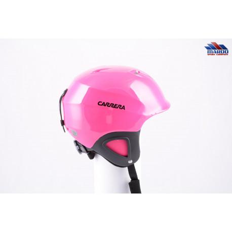 lyžiarska/snowboardová helma CARRERA CJ-1 2018 PINK, nastaviteľná ( NOVÁ )