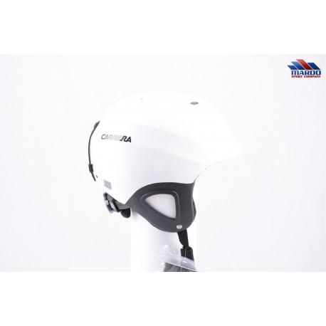 lyžiarska/snowboardová helma CARRERA CJ-1 2018 WHITE, nastaviteľná ( NOVÁ )