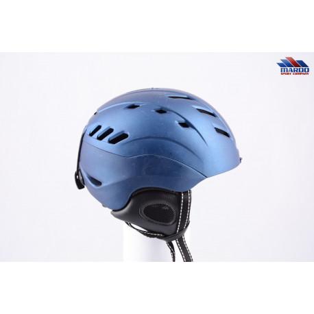 lyžiarska/snowboardová helma CP CAMURAI blue, nastaviteľná, controllable air system