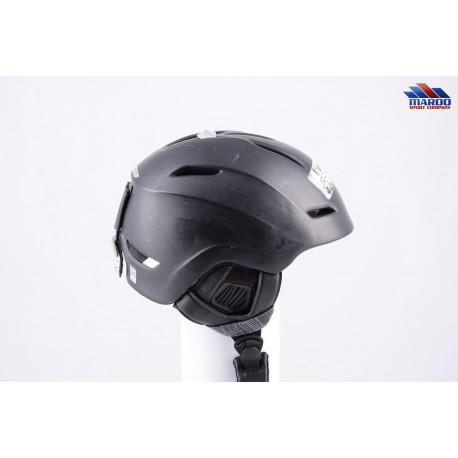 lyžiarska/snowboardová helma SALOMON PHANTOM CUSTOM AIR black, air ventilation