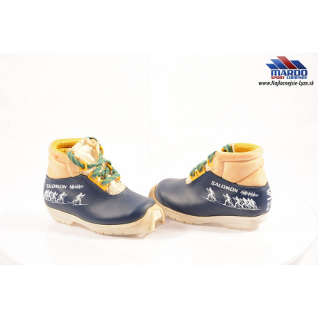 detské bežecké topánky SALOMON SR 111 blue/yellow, SNS profile, cross country