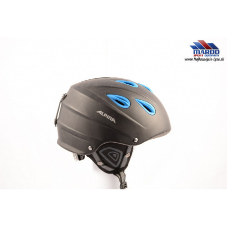 lyžiarska/snowboardová helma ALPINA JUNTA black/blue, nastaviteľná