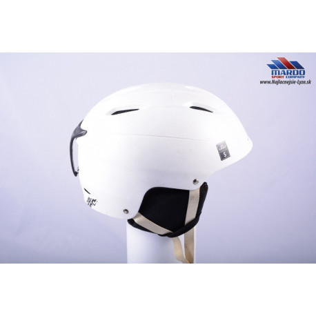 lyziarska/snowboardova helma GIRO BEVEL 2016 white S, nastavitelna 52-56cm