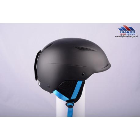 lyziarska/snowboardova helma ATOMIC SAVOR plus, BLACK/blue, 2017, nastavitelna 59-62cm ( UPLNE NOVA )