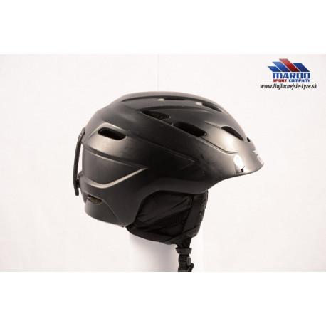 lyziarska/snowboardova helma GIRO NINE black matt, 2017, AIR ventilation, nastavitelna 62-65cm ( UPLNE NOVA )