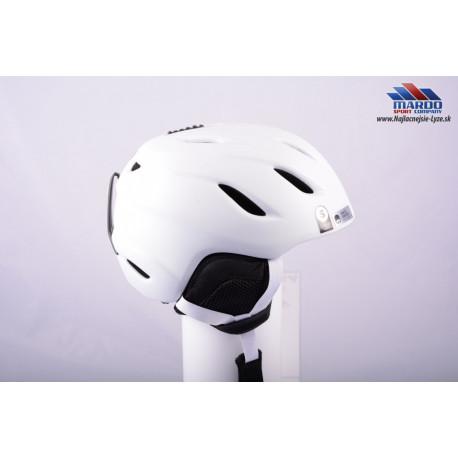 lyziarska/snowboardova helma GIRO NINE white, 2017, AIR ventilation, nastavitelna 52-56cm ( UPLNE NOVA )