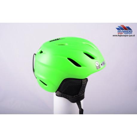 lyziarska/snowboardova helma GIRO NINE green, 2017, AIR ventilation, nastavitelna 52-56cm ( UPLNE NOVA )
