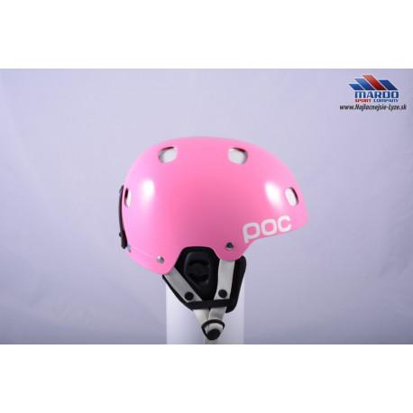 lyžiarska/snowboardová helma POC RECEPTOR BUG pink 2018, nastaviteľná ( NOVÁ )