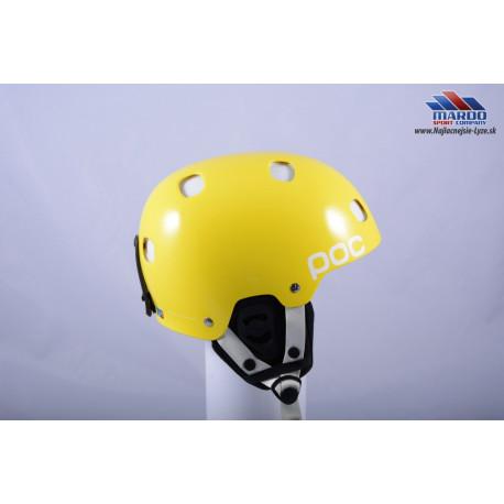 damska lyziarska helma POC RECEPTOR BUG yellow, 2017, nastavitelna 51-54cm ( UPLNE NOVA )