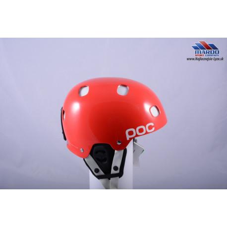 lyžiarska/snowboardová helma POC RECEPTOR BUG red 2018, nastaviteľná ( NOVÁ )