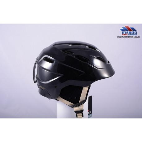 detska lyziarska helma GIRO NINE.10 Jr. BLACK, S size, nastavitelna ( UPLNE NOVA )