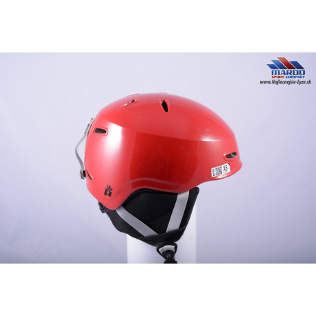 detska lyziarska helma PRET VTT1 red, 2016 XS size, nastavitelna 49-51cm ( UPLNE NOVA )