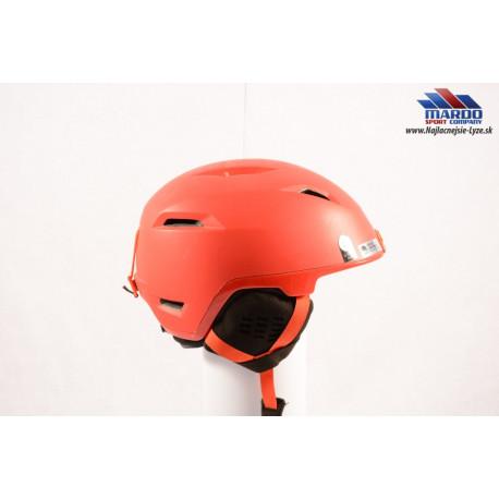 lyziarska/snowboardova helma GIRO GOPRO HELM EDIT 2018 red, nastavitelna 52-56cm, size S + ADAPTER GOPRO ( NOVA )