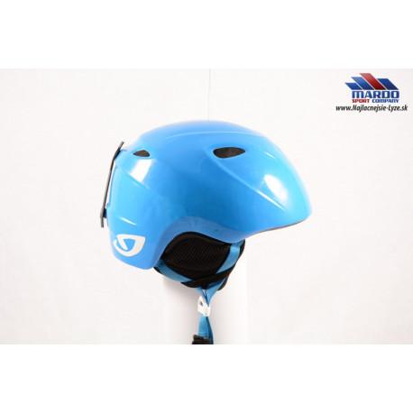 lyžiarska/snowboardová helma GIRO SLINGSHOT blue, nastaviteľná