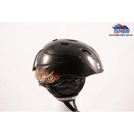 lyžiarska/snowboardová helma SMITH INTRIGUE black, nastaviteľná, air ventilation