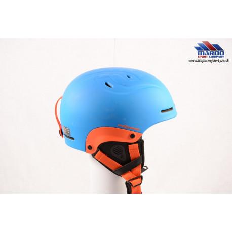 lyžiarska/snowboardová helma SWEET PROTECTION BLASTER 2018 blue/orange, nastaviteľná ( NOVÁ )