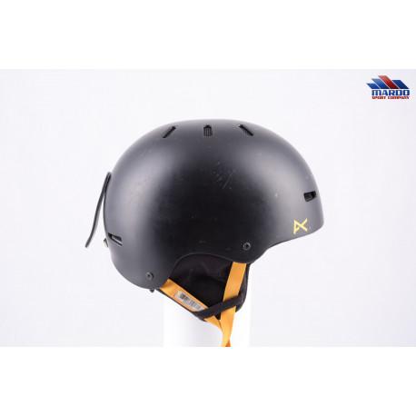 snowboardová helma ANON PROGRESSION 2.0 BLACK/yellow 2017, nastaviteľná
