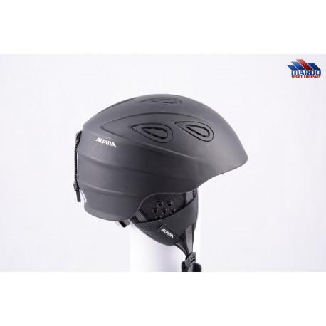 lyžiarska/snowboardová helma ALPINA GRAP 2.0 2018 black, nastaviteľná, air ventilation ( TOP stav )