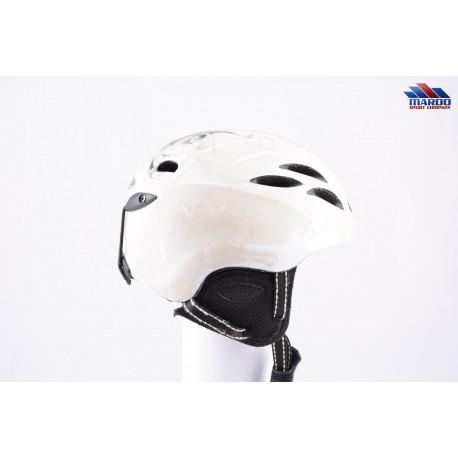 lyžiarska/snowboardová helma CP CUMBAYA white, nastaviteľná