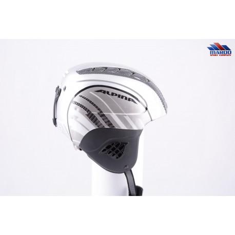 lyžiarska/snowboardová helma ALPINA CARAT silver/grey, nastaviteľná