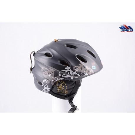 lyžiarska/snowboardová helma GIRO PRIMA W black, air ventilation, nastaviteľná ( TOP stav )