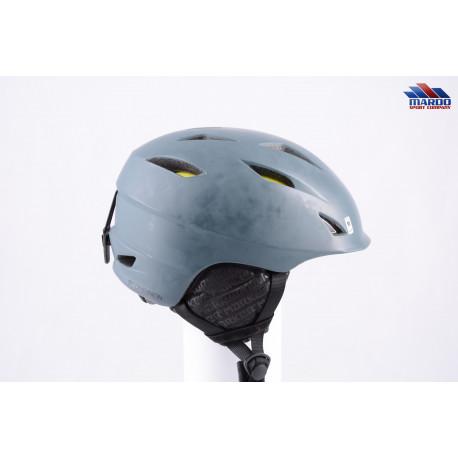 lyžiarska/snowboardová helma MARKER COMPANION 2019 grey, nastaviteľná, air ventilation